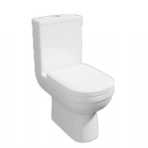Kartell Lifestyle Close Coupled Toilet - Cistern -Soft Close Seat - White